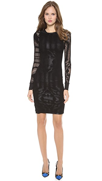 Jean Paul Gaultier Long Sleeve Knit Dress