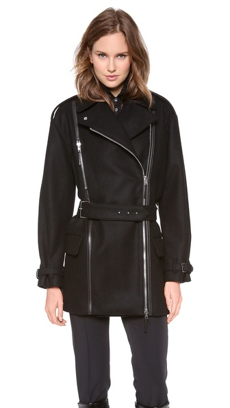 Jean Paul Gaultier Wool Coat