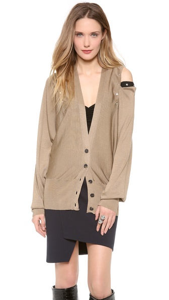 Jean Paul Gaultier Cardigan with Open Shoulders