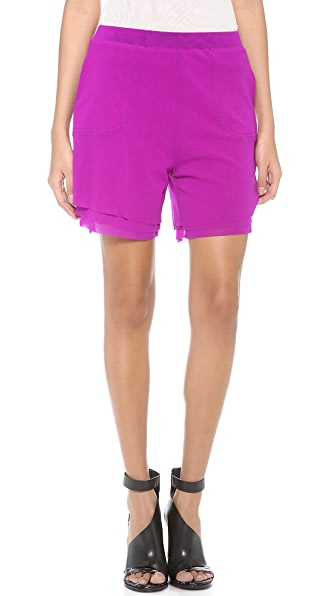 Jean Paul Gaultier Magenta Shorts