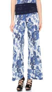 Jean Paul Gaultier Printed Pants