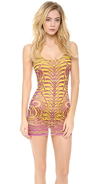 Jean Paul Gaultier Printed Tankini Set