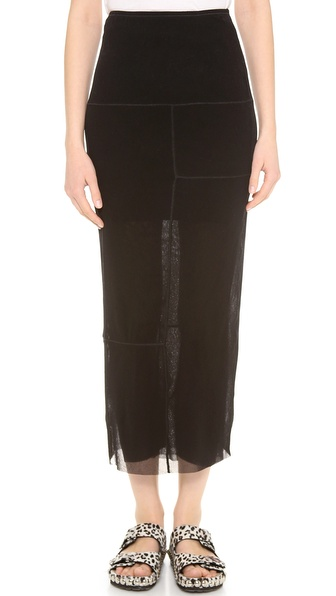 Jean Paul Gaultier Long Pencil Skirt