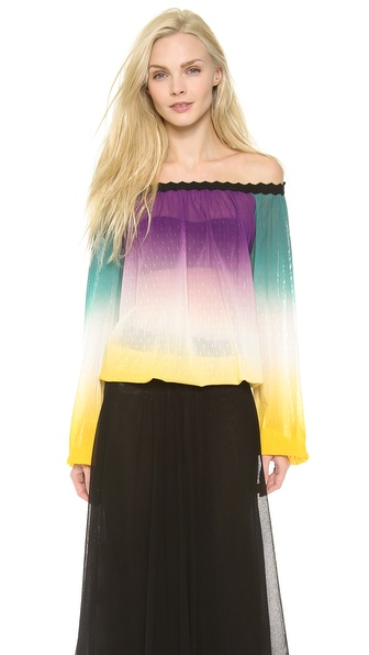 Jean Paul Gaultier Off the Shoulder Top