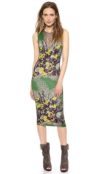 Jean Paul Gaultier Sleeveless Printed Dress