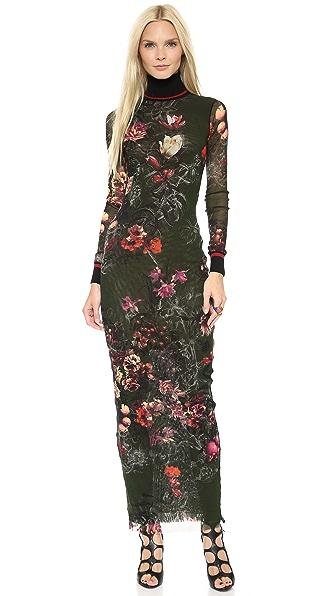 Jean Paul Gaultier Floral Maxi Dress