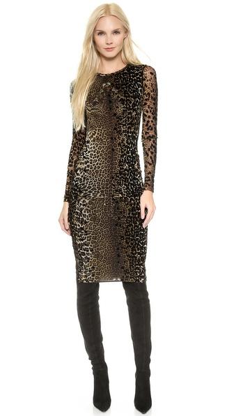 Jean Paul Gaultier Leopard Dress - Leopard
