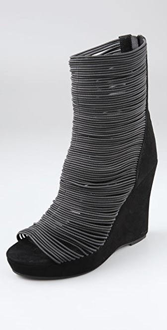Jeffrey Campbell Thanks Wedge Booties