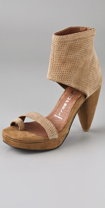 Jeffrey Campbell Zing Punch Platform Sandals
