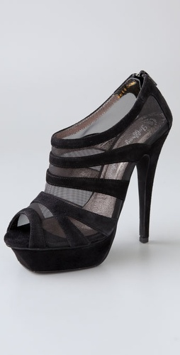 Jeffrey Campbell Clara Mesh Platform Pumps
