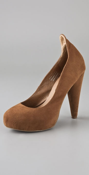 Jeffrey Campbell Jezabel Suede Platform Pumps