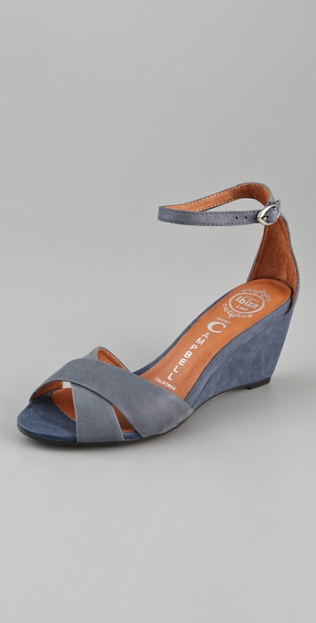 Jeffrey Campbell Trudeau Wedge Sandals