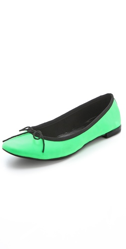 Jeffrey Campbell Astair Neon Flats