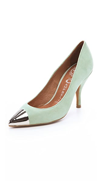 Jeffrey Campbell Flava Suede Pumps