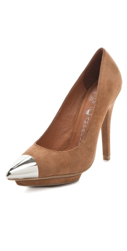 Shop Jeffrey Campbell Bullet Cap Toe Pumps and Jeffrey Campbell online - Footwear,Womens,Footwear,Pumps_(Heels), online Store