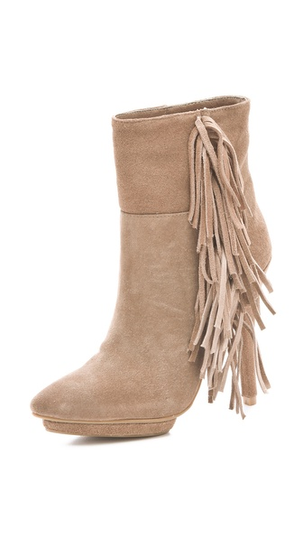 Jeffrey Campbell Taro Fringe Boots