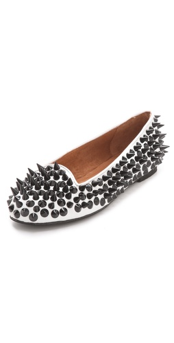 Jeffrey Campbell Mention Spike Loafers at Shopbop / East Dane