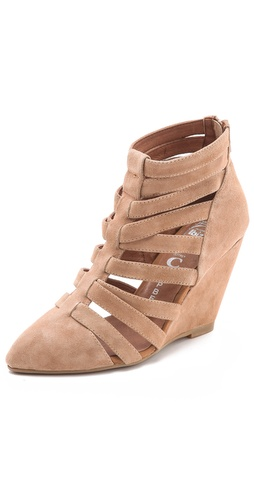 Jeffrey Campbell Vector Gladiator Booties