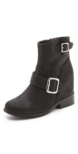 Jeffrey Campbell Willis Hidden Wedge Booties at Shopbop / East Dane