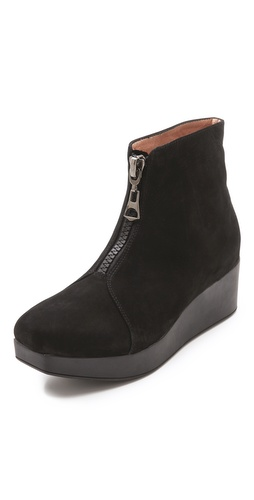 Jeffrey Campbell Wade Platform Zip Booties at Shopbop / East Dane