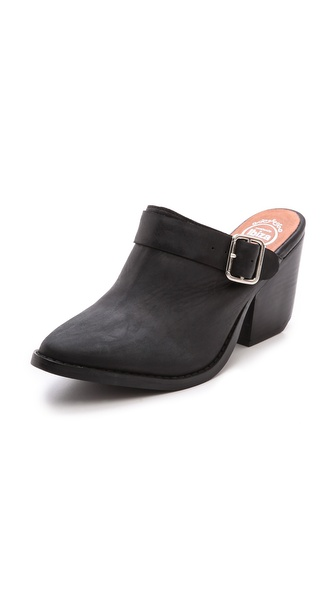 Jeffrey Campbell Route 66 Buckle Mules