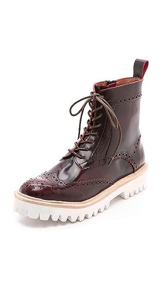 Jeffrey Campbell Clash Lug Sole Combat Boots