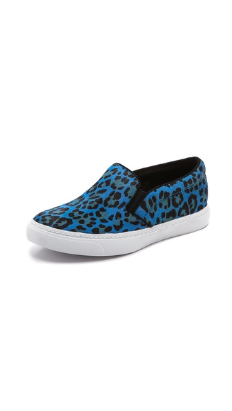 Jeffrey Campbell Alva Slip On Sneakers - Blue