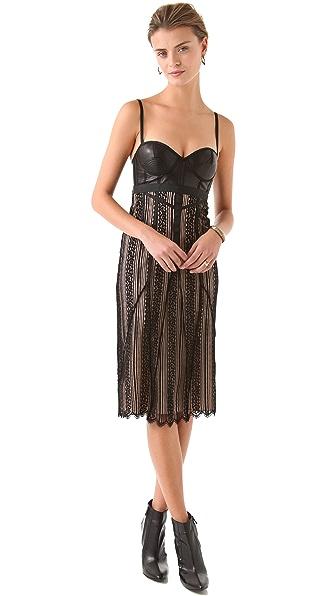 Jen Kao Lace Slip Dress