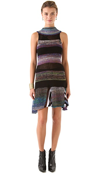 Jen Kao Ombre Sweater Dress