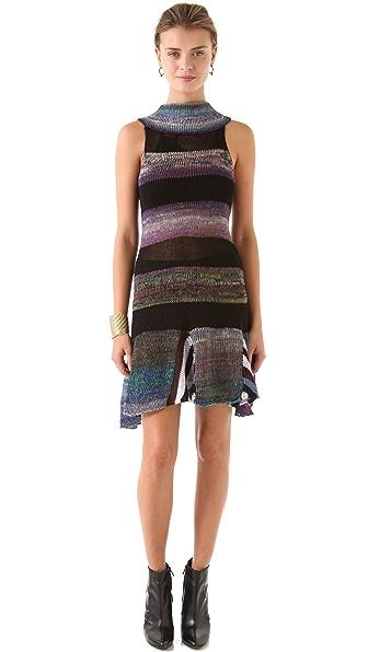 Jen Kao Ombre Sweater Dress