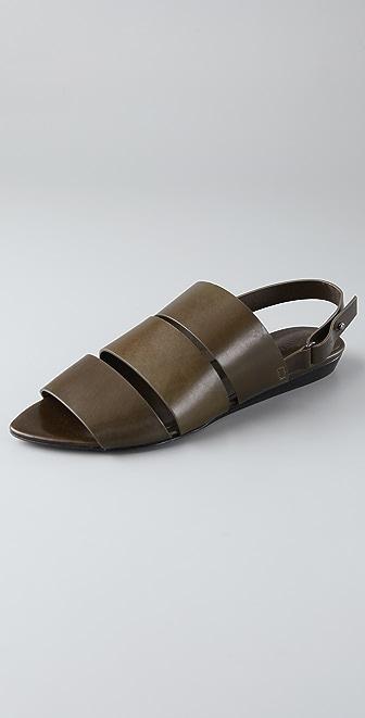 Jenni Kayne 3 Band Flat Sandals
