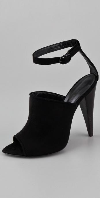 Jenni Kayne Ankle Strap Suede Sandals