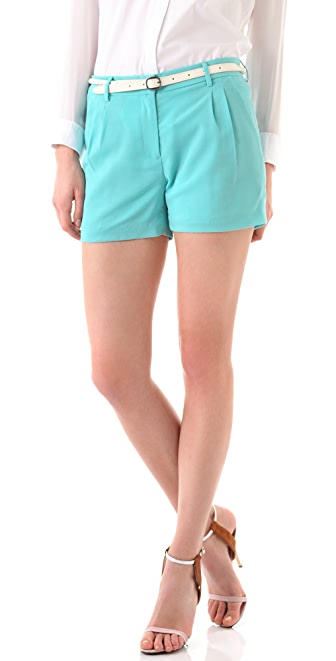 Jenni Kayne Trouser Pleated Shorts