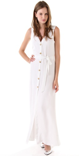 Jenni Kayne Button Down Maxi Dress