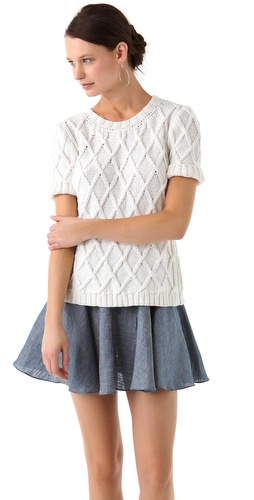 Jenni Kayne Short Sleeve Sweater