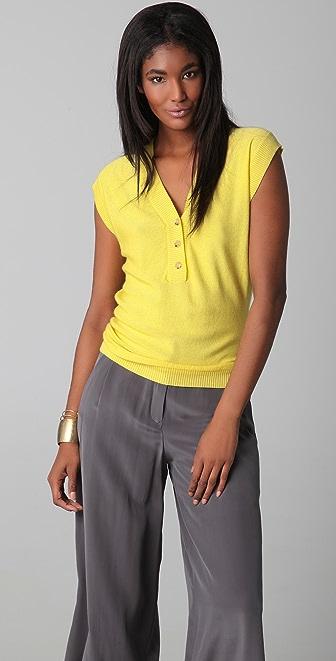 Jenni Kayne Knit Cashmere Henley