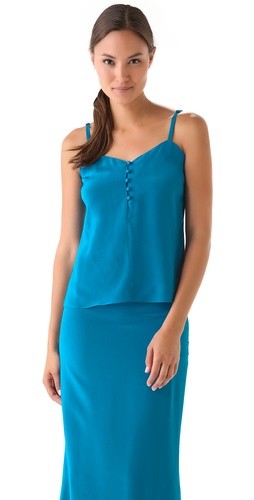 Shop Jenni Kayne Button Tank and Jenni Kayne online - Apparel,Womens,Tops,Blouse, online Store