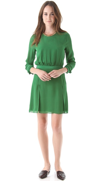 Jenni Kayne Long Sleeve Panel Dress