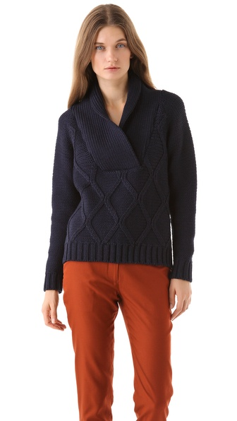 Jenni Kayne Shawl Collar Pullover