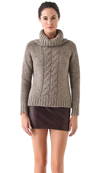 Jenni Kayne Cable Turtleneck Sweater