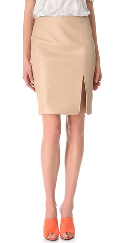 Shop Jenni Kayne Seam Skirt and Jenni Kayne online - Apparel,Womens,Bottoms,Skirts, online Store