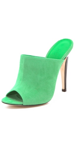 Jenni Kayne Suede Mule Heels at Shopbop.com