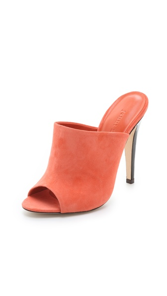 Jenni Kayne Suede Mule Heels