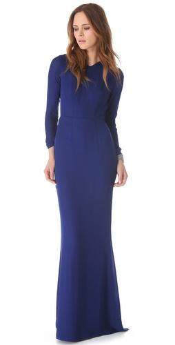Jenni Kayne Slit Back Gown