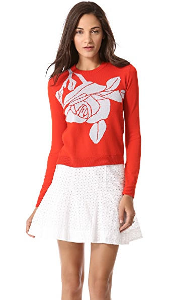 Jenni Kayne Rose Knit Sweater