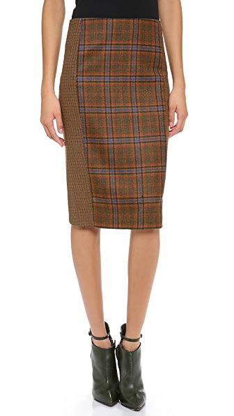 Jenni Kayne Cutout Pencil Skirt