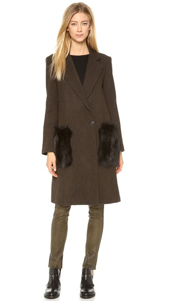 Jenni Kayne Patch Pocket Coat
