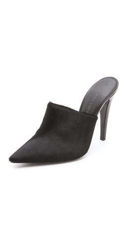 Jenni Kayne Haircalf Pointed Mules at Shopbop / East Dane
