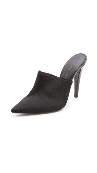 Jenni Kayne Haircalf Pointed Mules