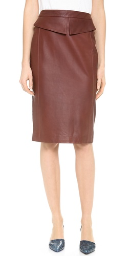Jenni Kayne Peplum Pencil Skirt at Shopbop / East Dane